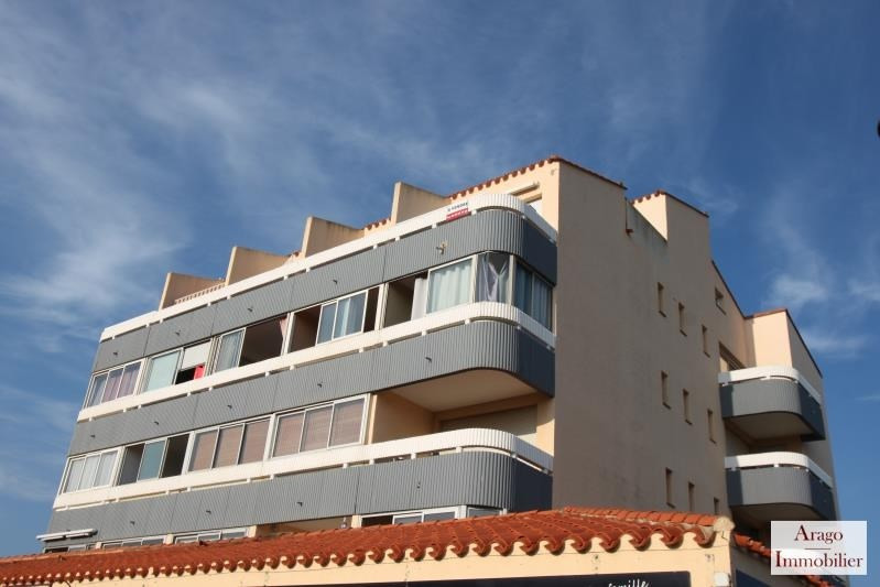 Sale apartment Le barcares 57 000€ - Picture 1