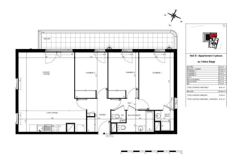 Venta  apartamento Asnieres-sur-seine 470000€ - Fotografía 1