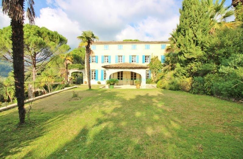 Vente de prestige maison / villa Grasse 995000€ - Photo 1