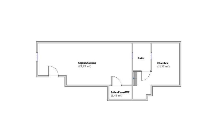Revenda apartamento Paris 18ème 460000€ - Fotografia 6