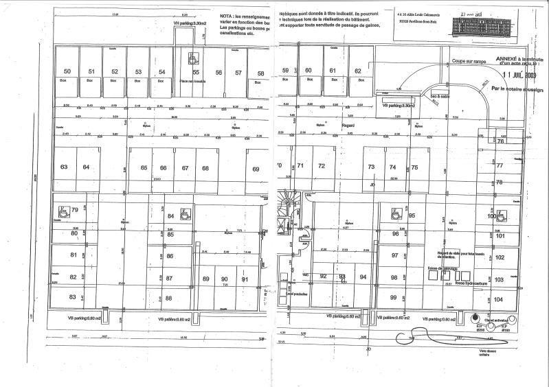 Sale parking spaces Les pavillons sous bois 7500€ - Picture 2