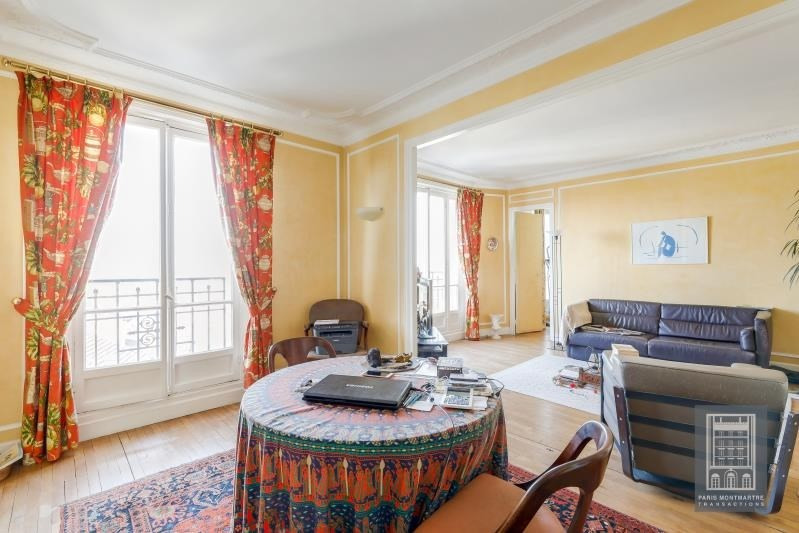 Vente de prestige appartement Paris 18ème 1 570 000€ - Photo 2