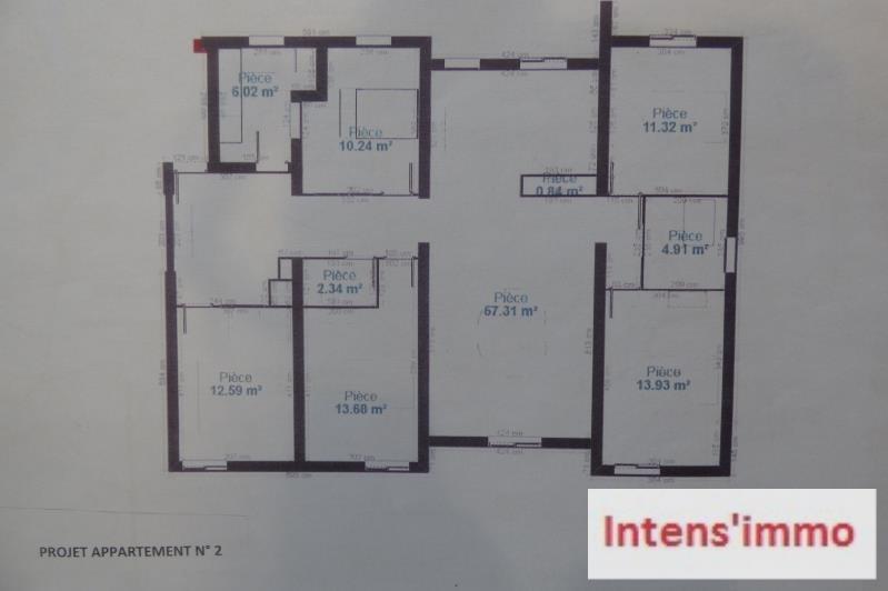 Sale apartment Romans sur isere 146200€ - Picture 4