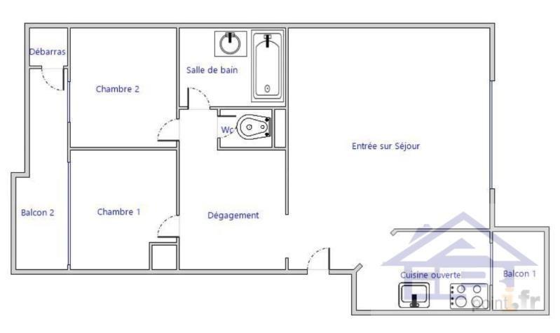 Location appartement Etang la ville 1135€ CC - Photo 12