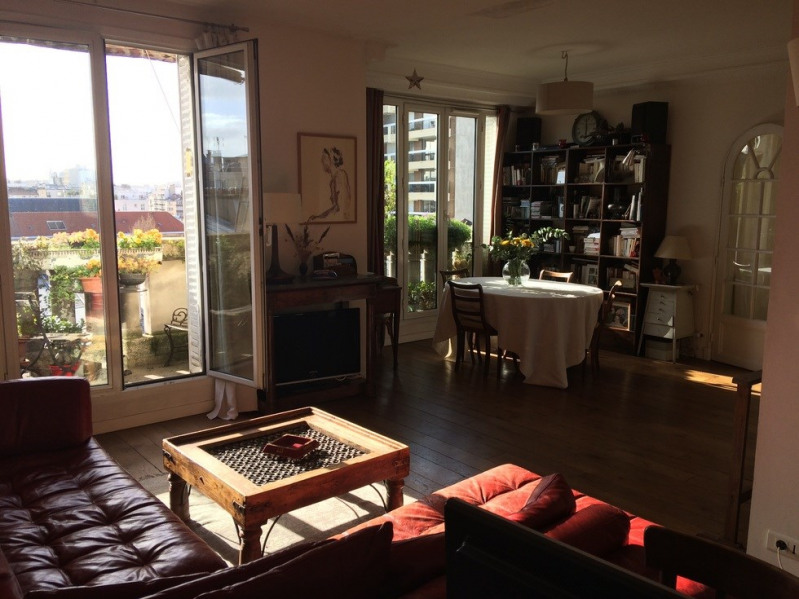 Vente de prestige appartement Paris 15ème 1499000€ - Photo 1