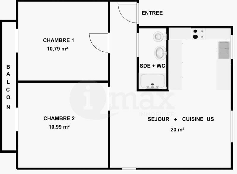 Vente appartement Courbevoie 330000€ - Photo 4