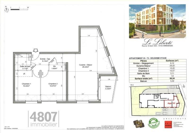 Produit d'investissement appartement Annemasse 255000€ - Photo 2