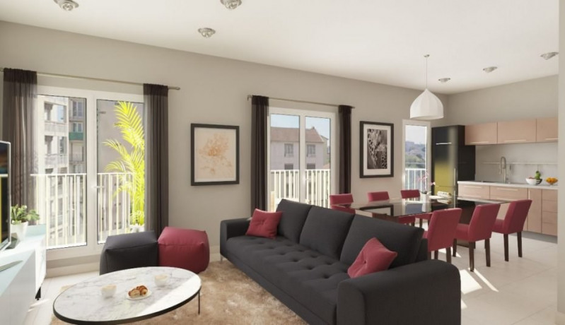 Sale apartment Colombes 558500€ - Picture 1