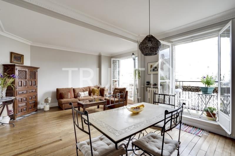 Vente appartement Paris 18ème 744000€ - Photo 2