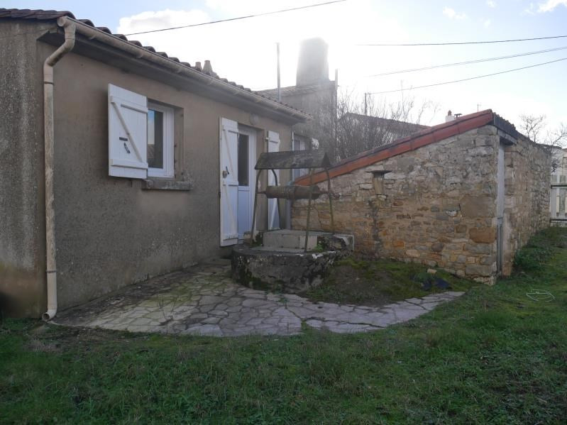 Vente maison / villa St vincent sur jard 176800€ - Photo 2