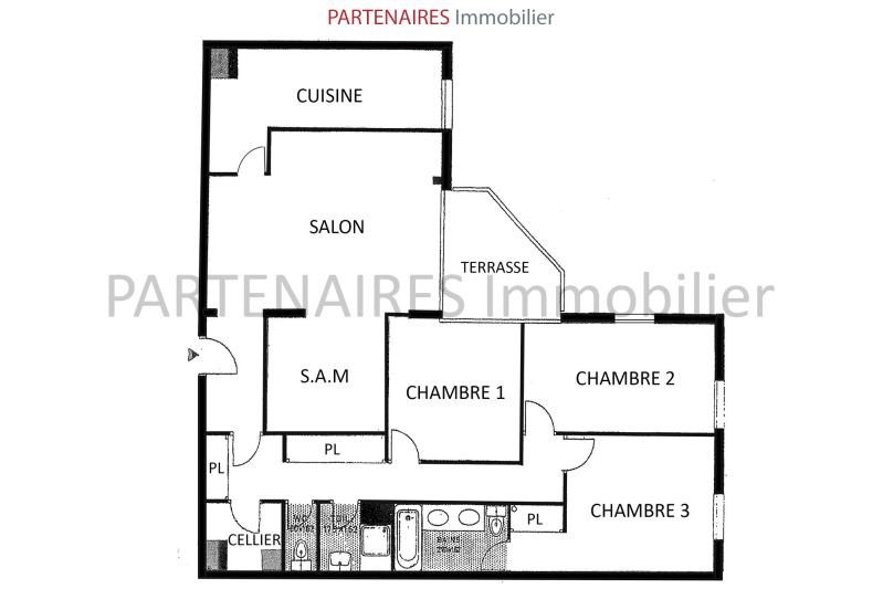 Sale apartment Le chesnay 560 000€ - Picture 11