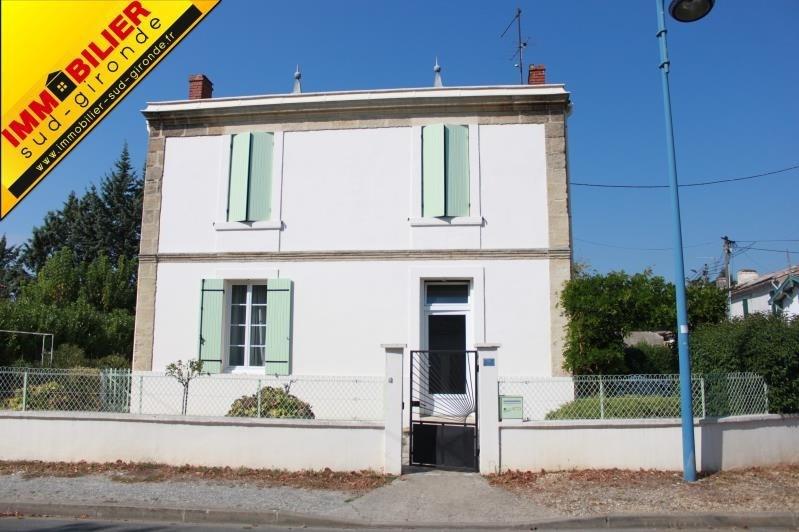 Sale house / villa Langon 222700€ - Picture 1