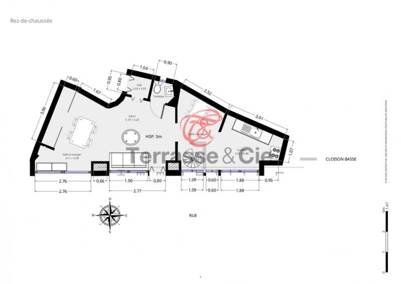 Sale apartment Paris 18ème 310000€ - Picture 10