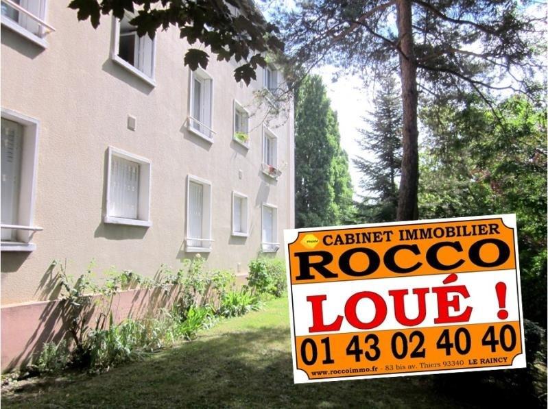Rental apartment Le raincy 965€ CC - Picture 1