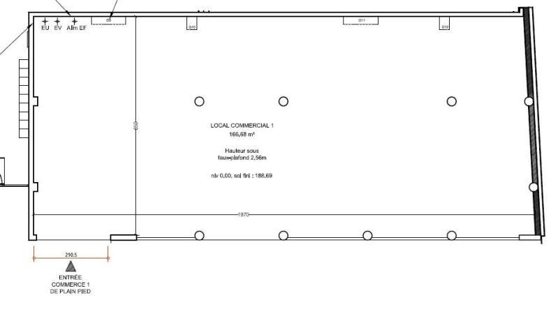 Sale empty room/storage Venissieux 252000€ - Picture 2