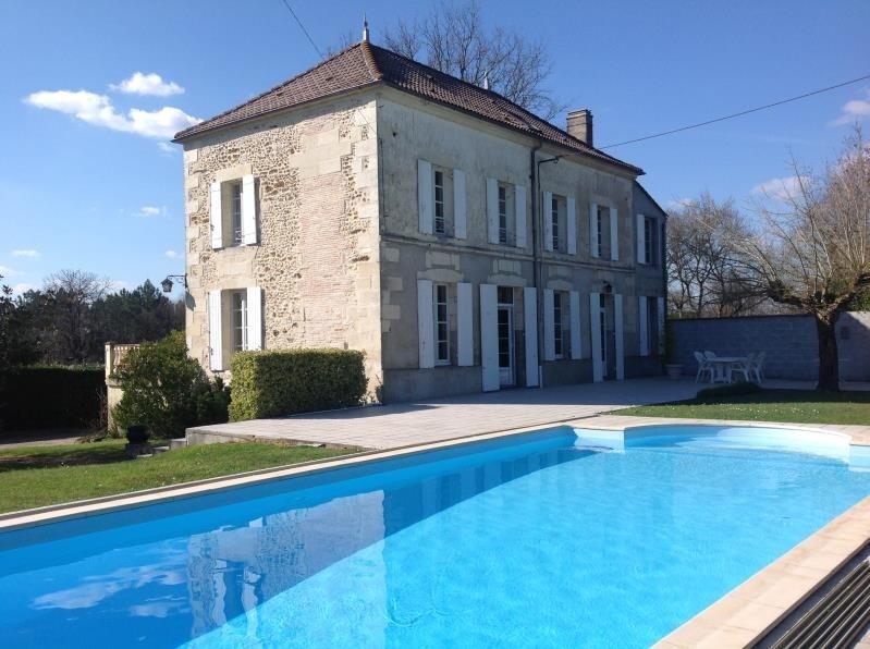 Vente maison / villa Lapouyade 301000€ - Photo 1