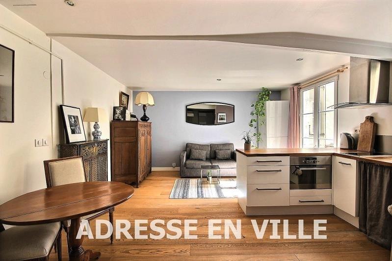 Verkoop  appartement Levallois-perret 355000€ - Foto 1