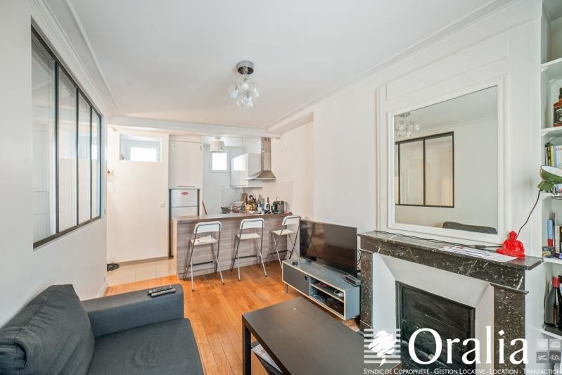 Vente appartement Paris 17ème 370000€ - Photo 1
