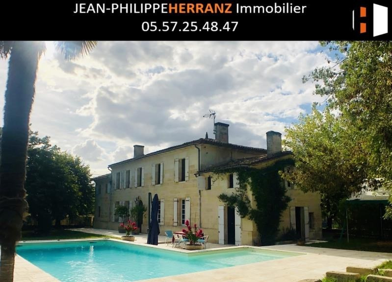 Sale house / villa Libourne 414 000€ - Picture 1
