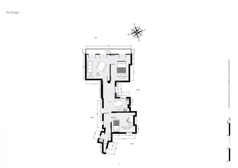 Sale apartment Paris 10ème 620000€ - Picture 9