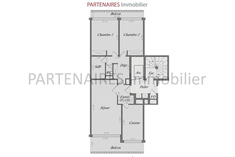 Vente appartement Le chesnay 447 000€ - Photo 7