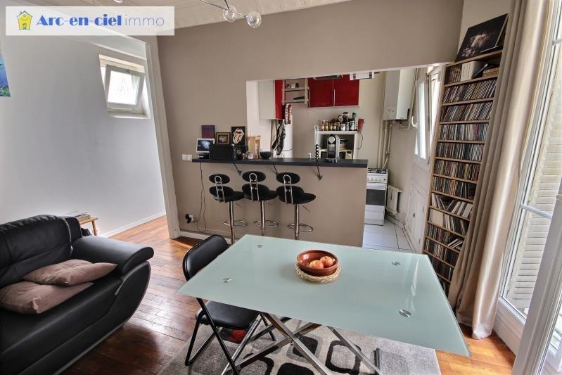 Sale apartment Paris 20ème 299000€ - Picture 3
