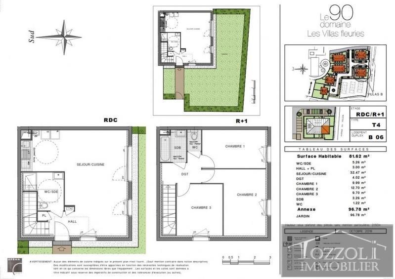 Sale house / villa Villefontaine 214000€ - Picture 2