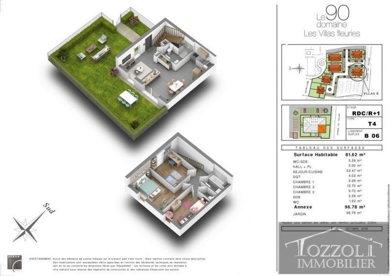 Sale house / villa Villefontaine 214000€ - Picture 3
