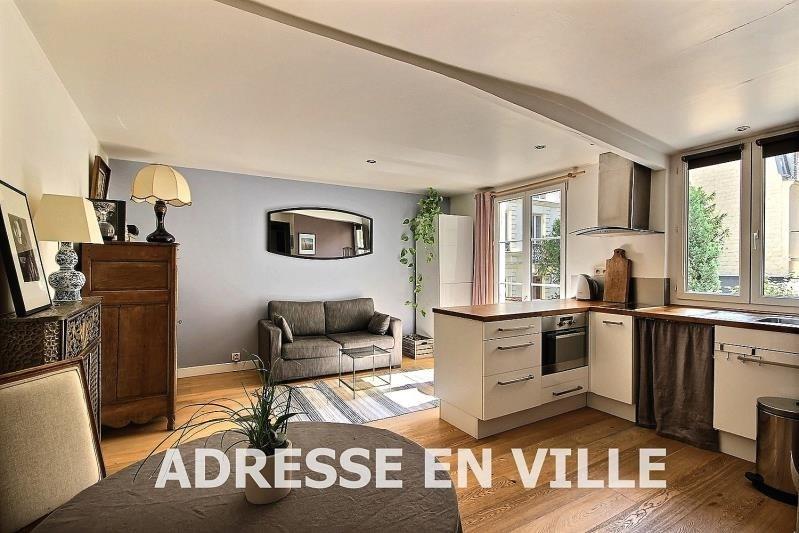 Verkoop  appartement Levallois-perret 355000€ - Foto 3