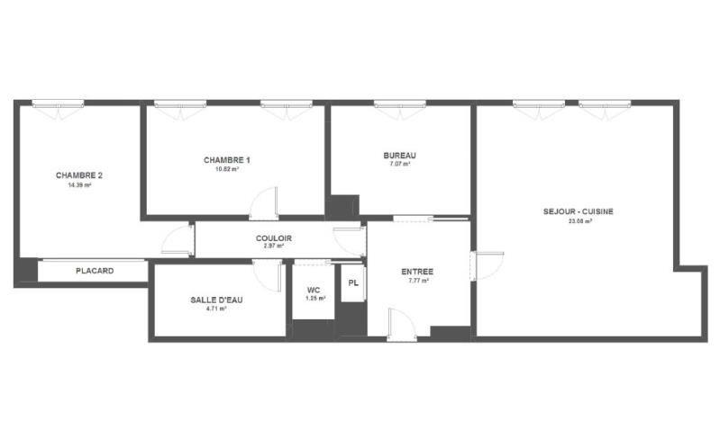 Vente appartement Issy les moulineaux 655000€ - Photo 10