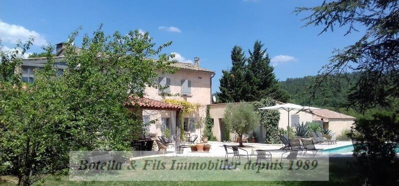 Vente de prestige maison / villa Uzes 585000€ - Photo 1