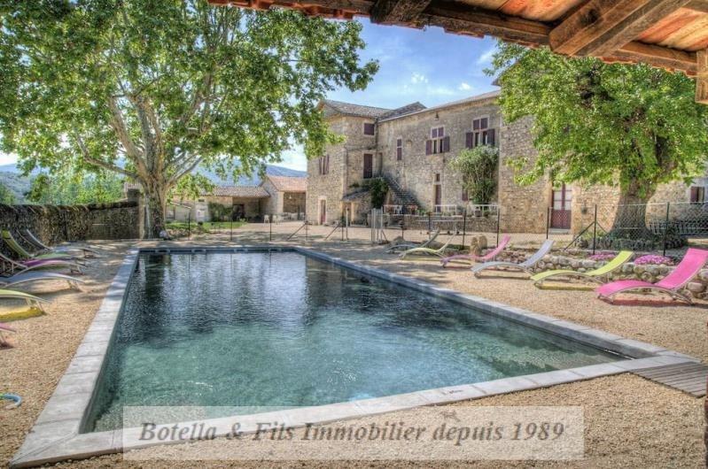Vente de prestige maison / villa Vallon pont d'arc 1562000€ - Photo 1