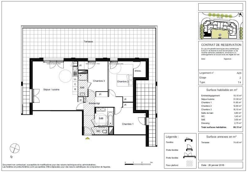 Vente appartement Blagnac 389500€ - Photo 5