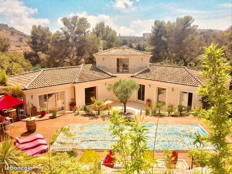Venta de prestigio  casa Septemes les vallons 995000€ - Fotografía 1