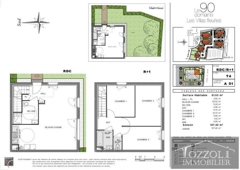 Sale house / villa Villefontaine 217000€ - Picture 3