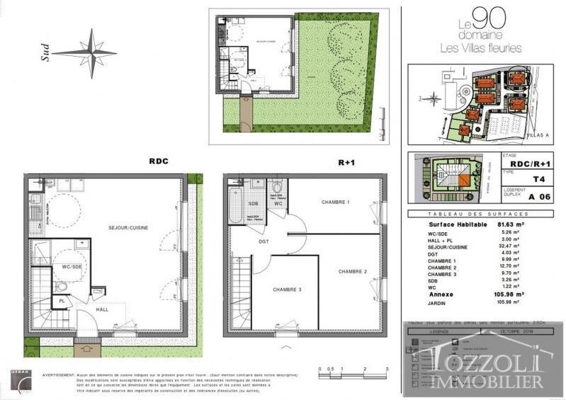 Vente maison / villa Villefontaine 217000€ - Photo 1