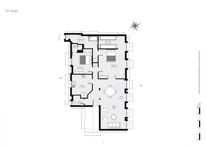 Vente de prestige appartement Paris 6ème 1850000€ - Photo 8