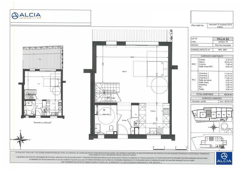 Vente maison / villa Merignac 518000€ - Photo 2