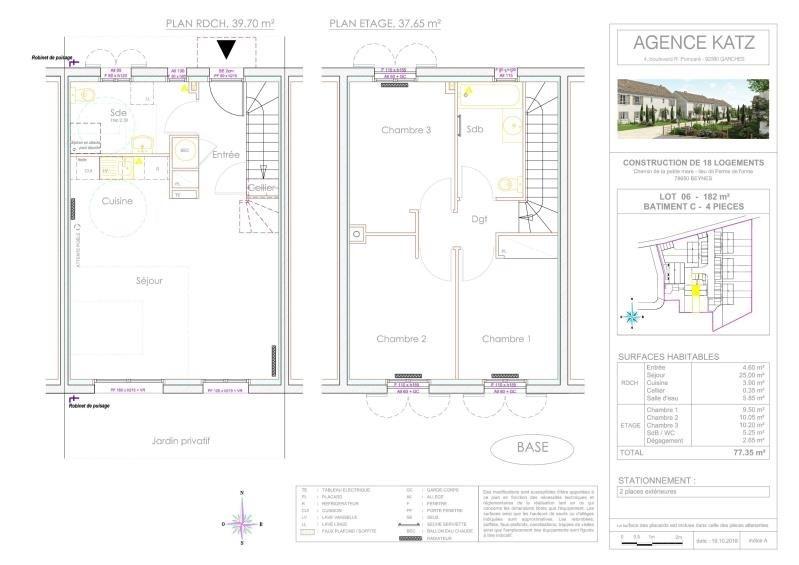 Vente maison / villa Beynes 252000€ - Photo 6