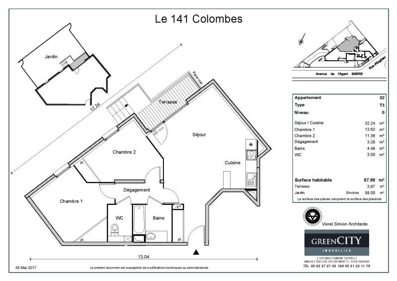 Rental apartment Colombes 1 275€ CC - Picture 2