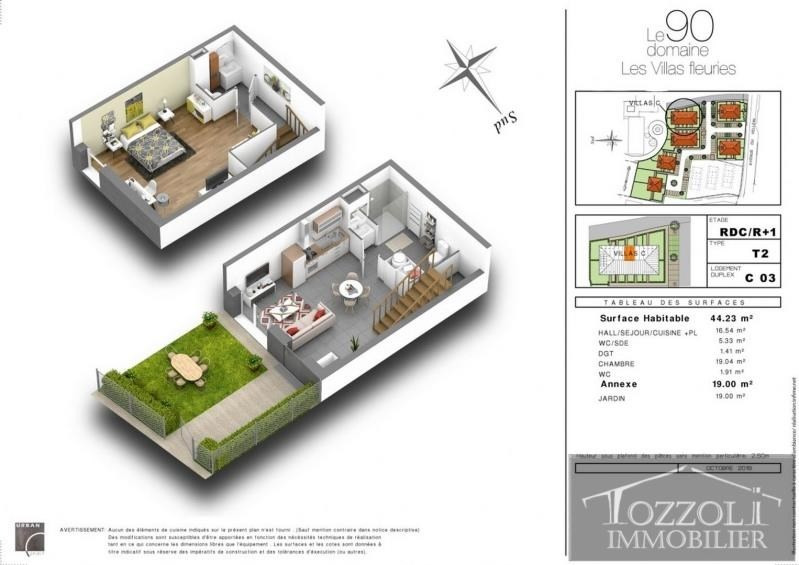Vente maison / villa Villefontaine 135000€ - Photo 2
