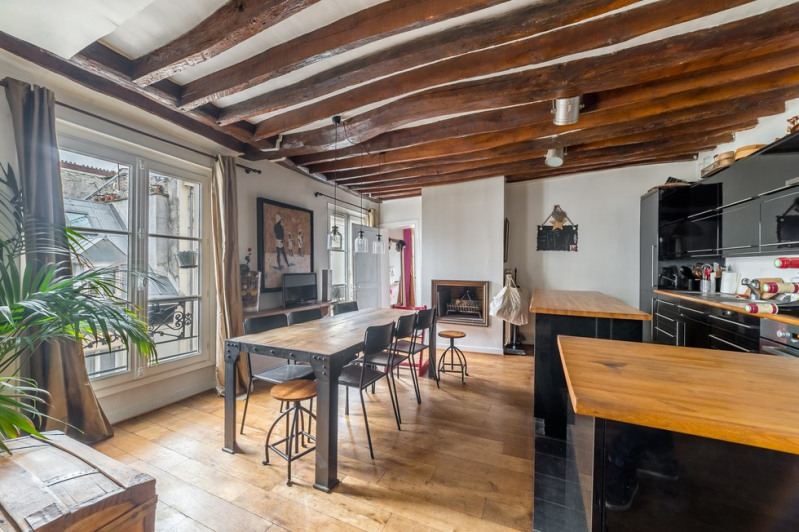 Vente de prestige appartement Paris 18ème 1 099 000€ - Photo 4