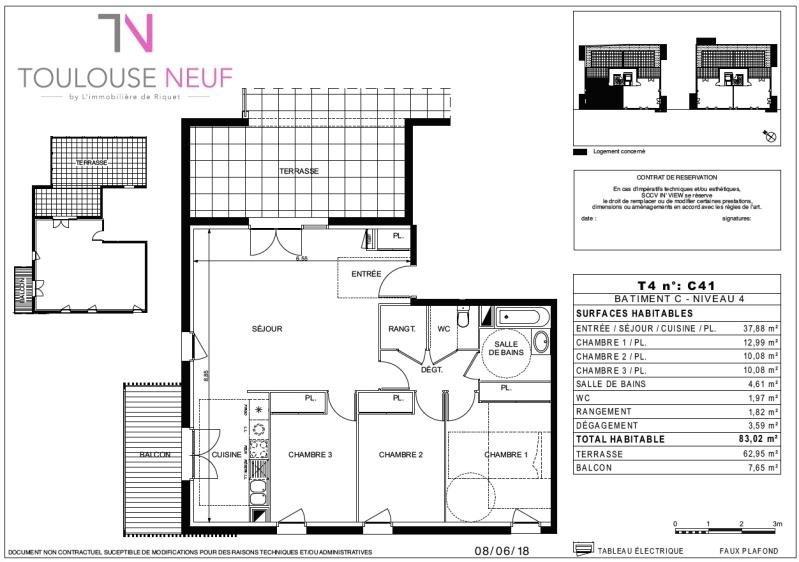 Vente appartement Ramonville 379900€ - Photo 8