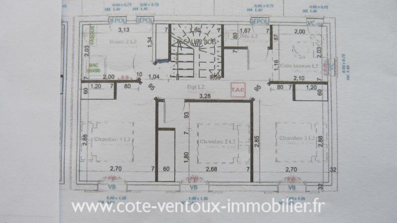 Vente maison / villa Blauvac 238500€ - Photo 6