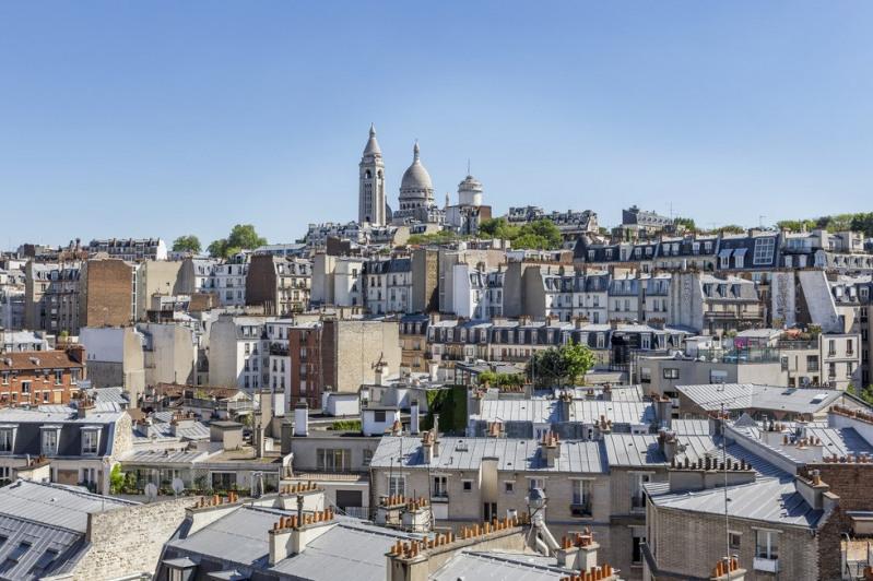 Vente de prestige appartement Paris 18ème 1975000€ - Photo 2