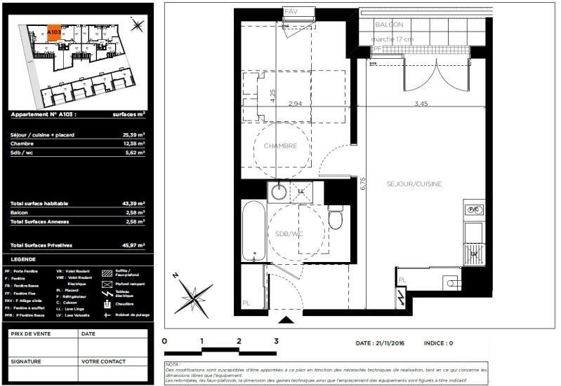 Vente appartement - 177000€ - Photo 8