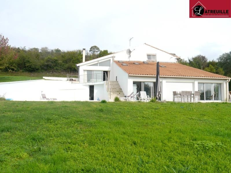 Sale house / villa St dizant du gua 372600€ - Picture 1