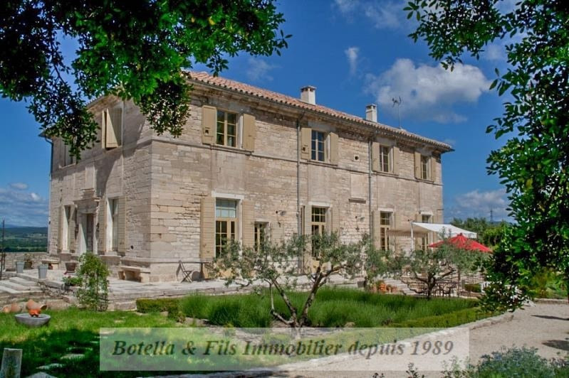 Deluxe sale house / villa Uzes 1 299 000€ - Picture 1