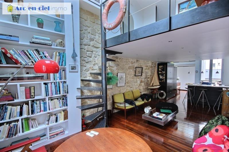 Vente appartement Paris 14ème 618000€ - Photo 2