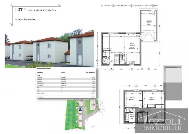 Vente maison / villa La verpilliere 221000€ - Photo 2